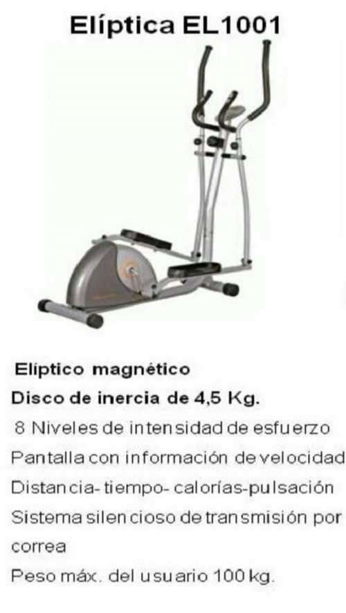 Elíptica Evolution Fitness - 1