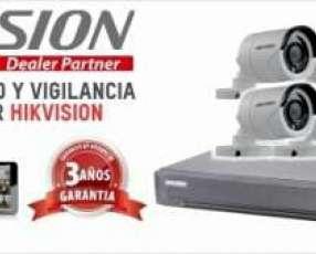 8 cámaras de seguridad Hikvision