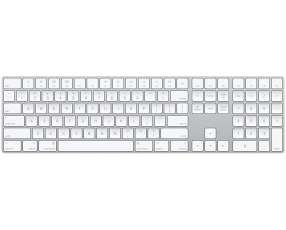 Apple magic keyboard con teclado numérico inglés US