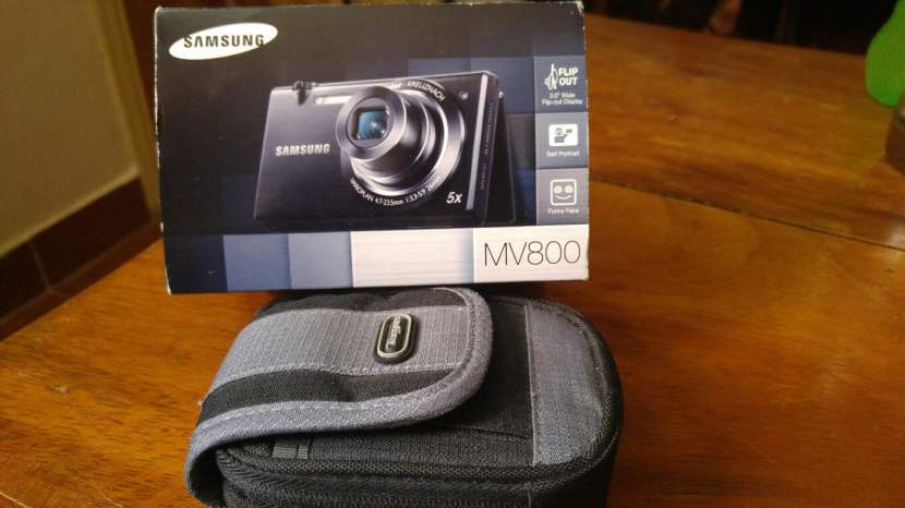 Cámara Fotográfica Digital Touch Samsung MV800 - 8