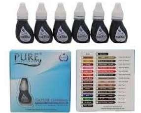 Pigmentos para microblanding / micropigmentacion