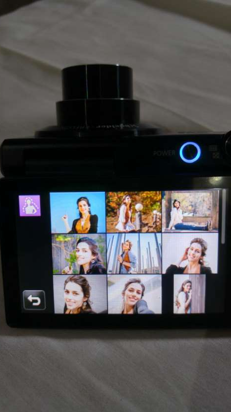 Cámara Fotográfica Digital Touch Samsung MV800 - 1