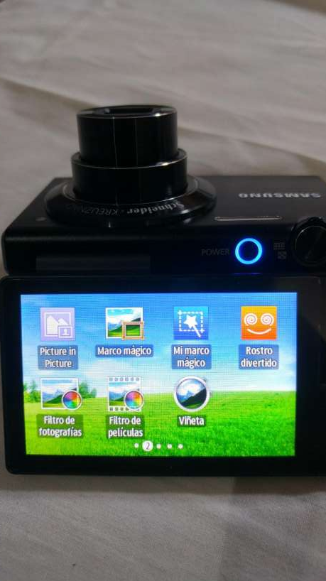Cámara Fotográfica Digital Touch Samsung MV800 - 3