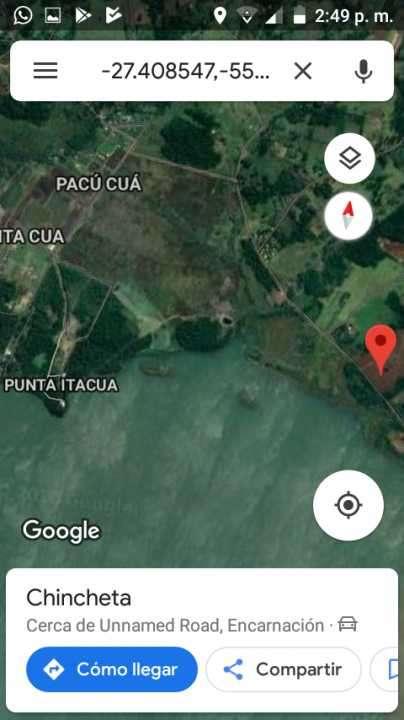 34 hectáreas en Itacuá distrito de Encarnación - 3