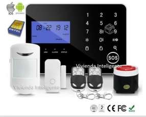 Alarma GSM app para celular