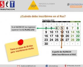Liquidación de IRP en Asunción
