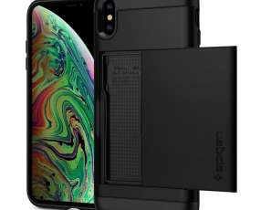 Funda spigen slim armor cs iphone xs max