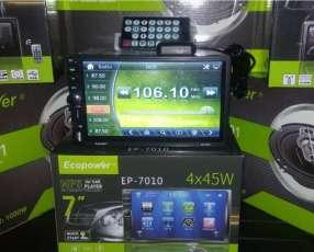 Autoradio con pantalla y sistema gps