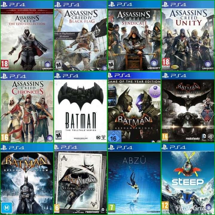 Carga digital de juegos de PlayStation 4