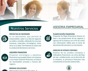 Asesoramiento empresarial proyecto de inversión finanzas