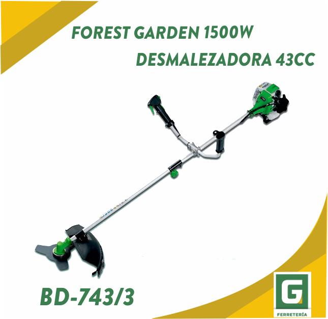 Desmalezadora Forest Garden 1500W 43 cc