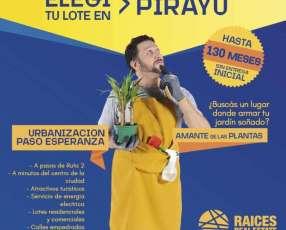 Terreno en Pirayú