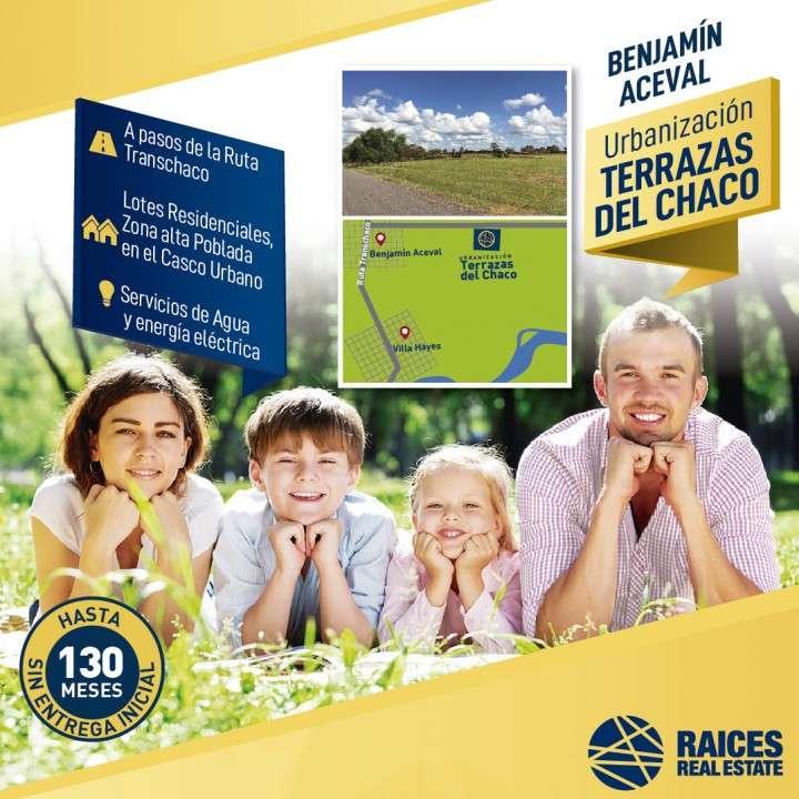 Terreno en Benjamín Aceval - 0