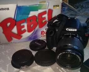 Cámara canon Rebel EOS T5