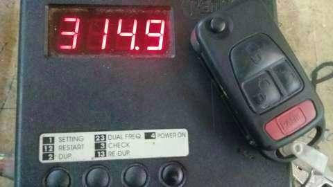 Reparación control remoto Mercedes ML 320