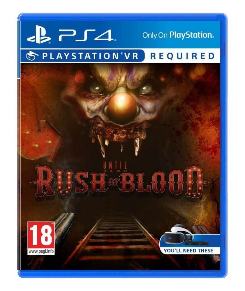 Until dawn rush of blood - VR para PS4