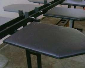 Mesa lineal para serigrafía