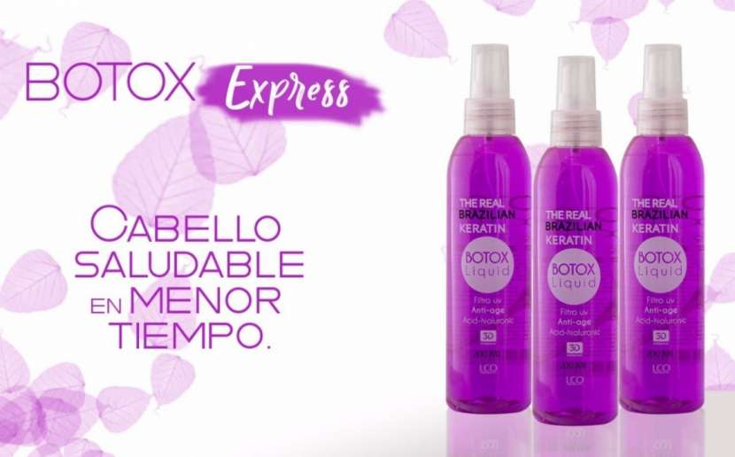 Botox y shock de keratina express x 200 ml
