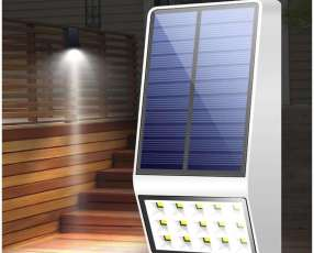 Aplique Led Pared Solar SIN CENSOR