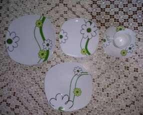 Juego de platos de 30 piezas