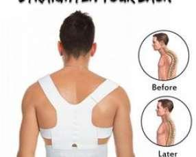 Corrector postural con imanes