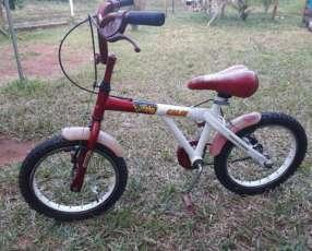 Bicicleta Aro 16 Caloi Zig Cross
