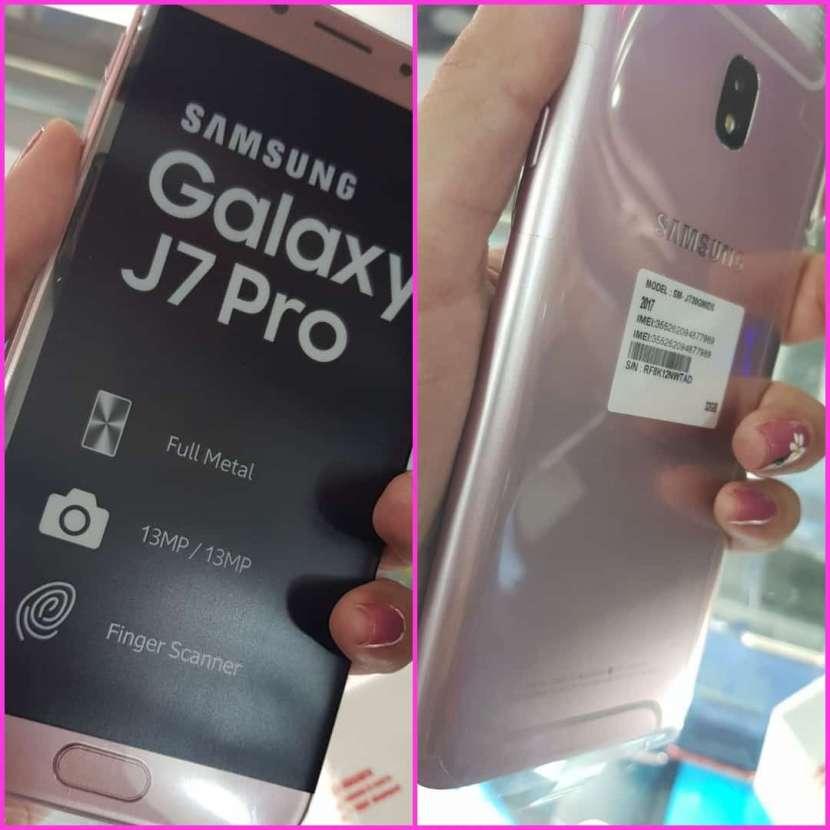 Samsung Galaxy J7 pro rosa de 32 gb - 0