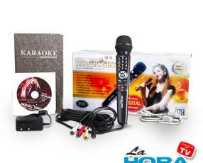 Equipo de karaoke