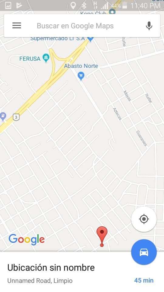 Terreno zona Limpio zona abasto norte - 0