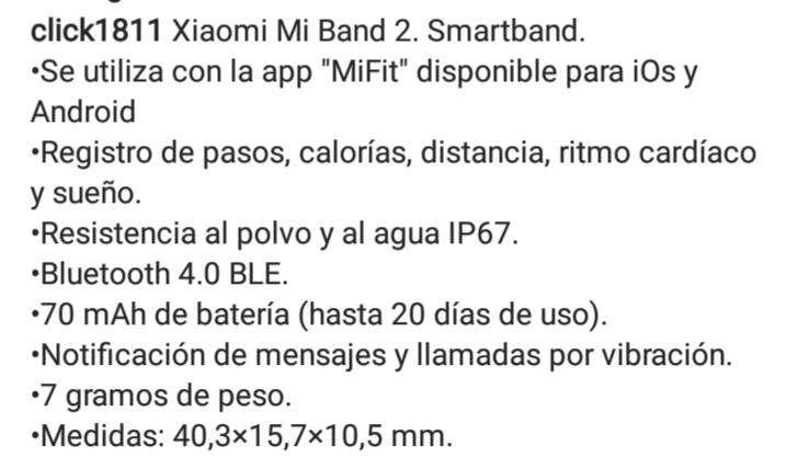 Xiaomi mi band2 smarband - 1