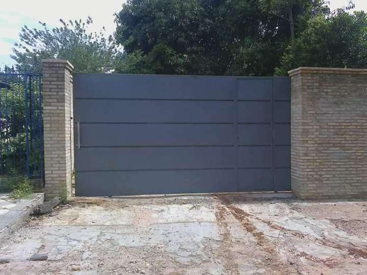 Fabricación de portón corredizo y basculante - 4