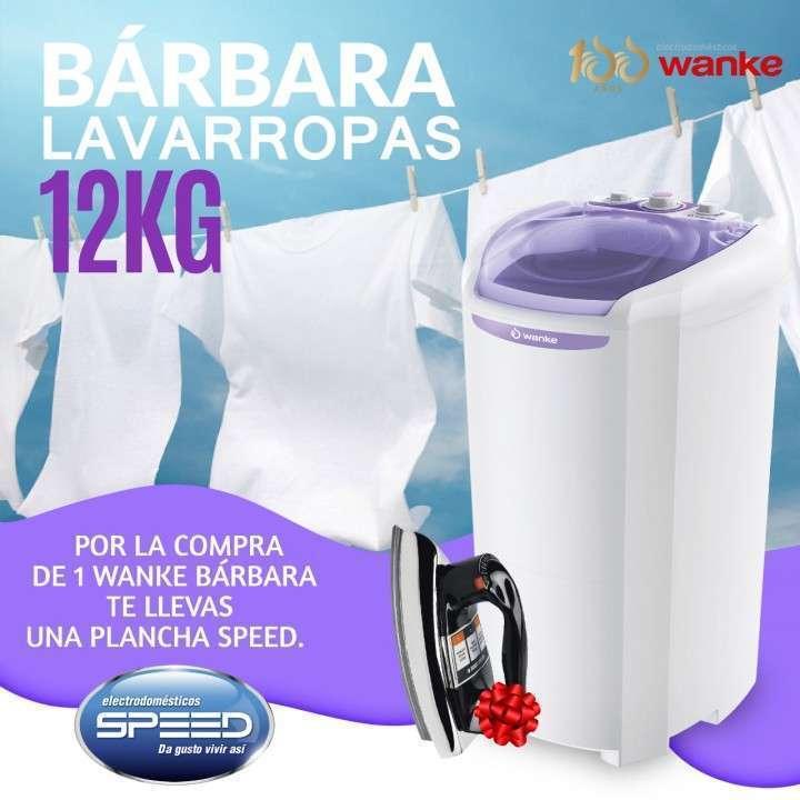 Lavarropa Wanke Barbara 12 kg 220v - 0
