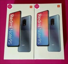 Redmi Note 9S 64 gb nuevos en caja