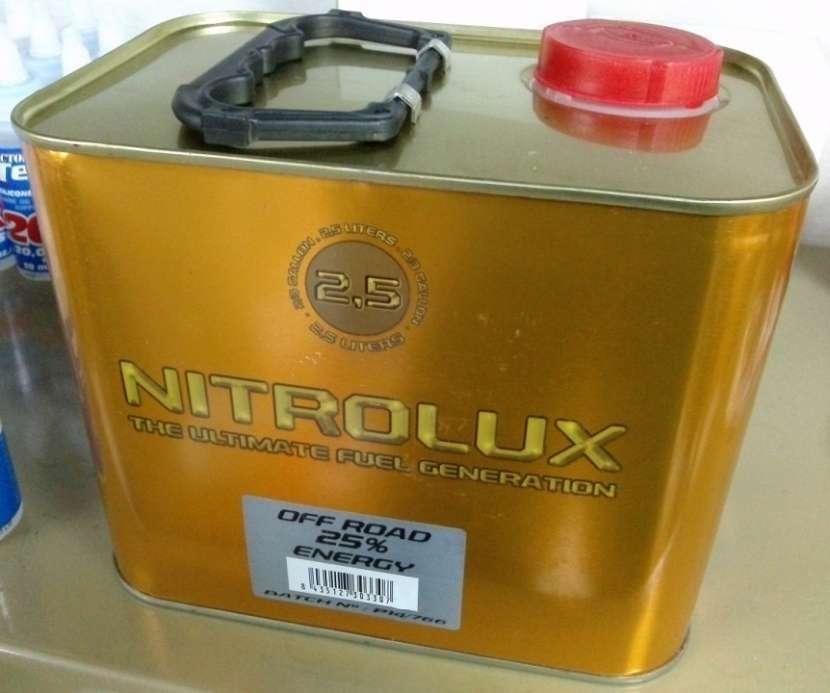 Combustible Nitro de 25% para vehículos RC - 0