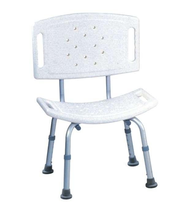 Silla para ducha de aluminio - 0
