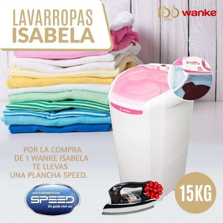 Lavarropas Wanke Isabela 15 kg - 0
