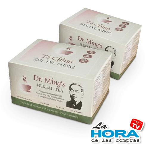Té chino dr Ming 2 cajas - 1
