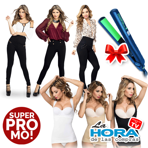 Hollywood pants insta shape y planchita de regalo - 0