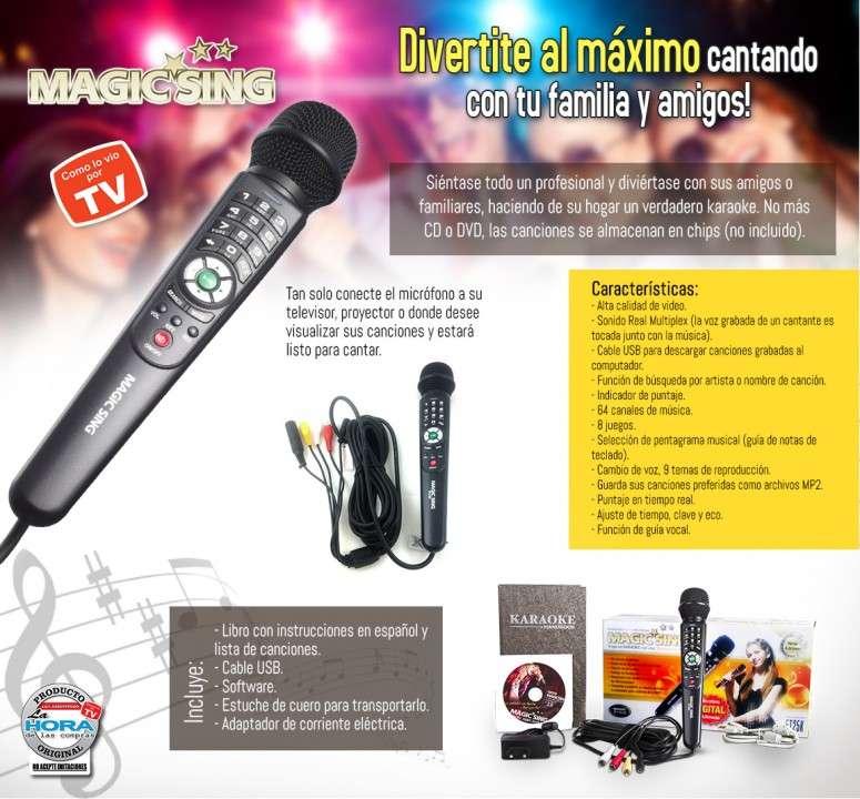 Magic sing karaoke