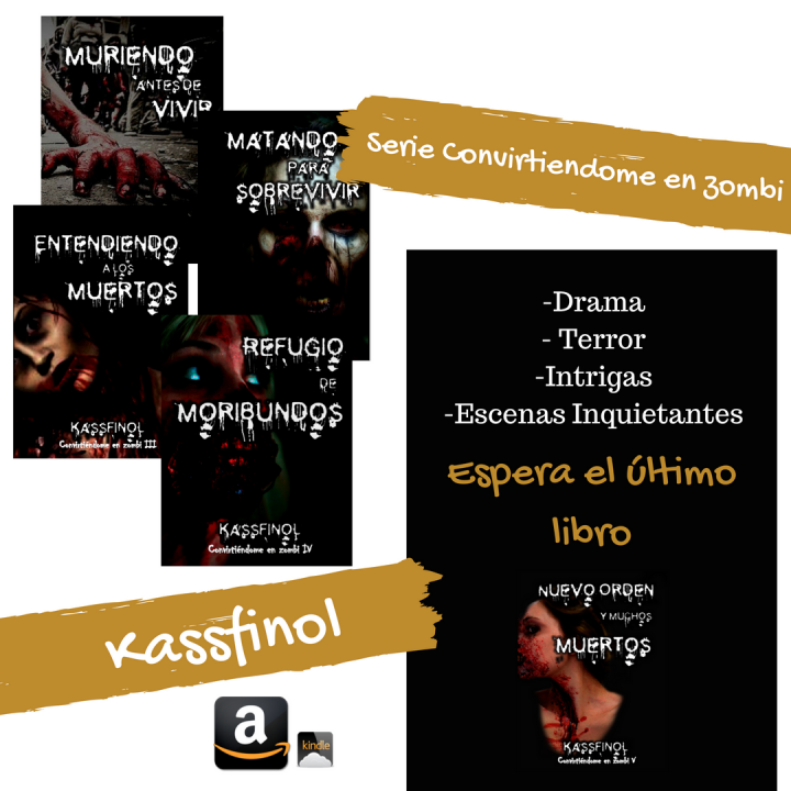 Libros de romance paranormal y terror de Kassfinol - 5