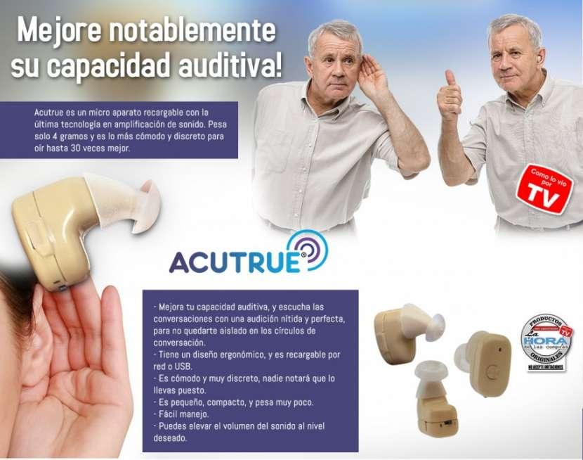 Acutrue amplificador auditivo recargable - 2