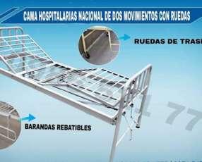 Cama hospitalaria de 2 movimientos nacional