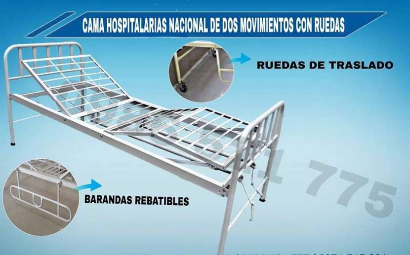 Cama hospitalaria de 2 movimientos nacional - 0