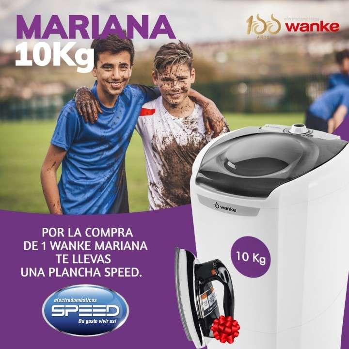 Lavarropas Wanke Mariana 10 kg - 0