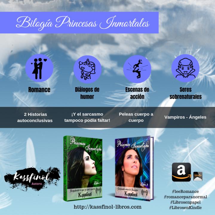 Libros de romance paranormal y terror de Kassfinol - 1