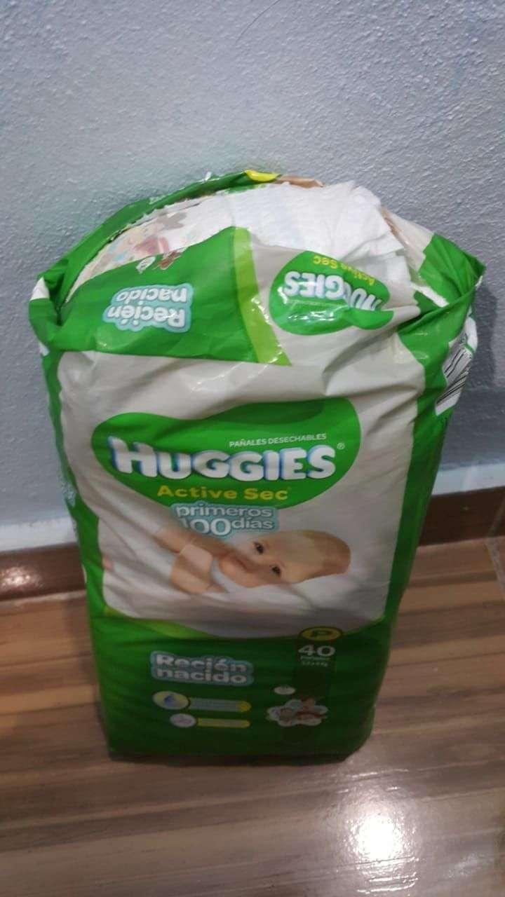 Pañales Huggies - 1