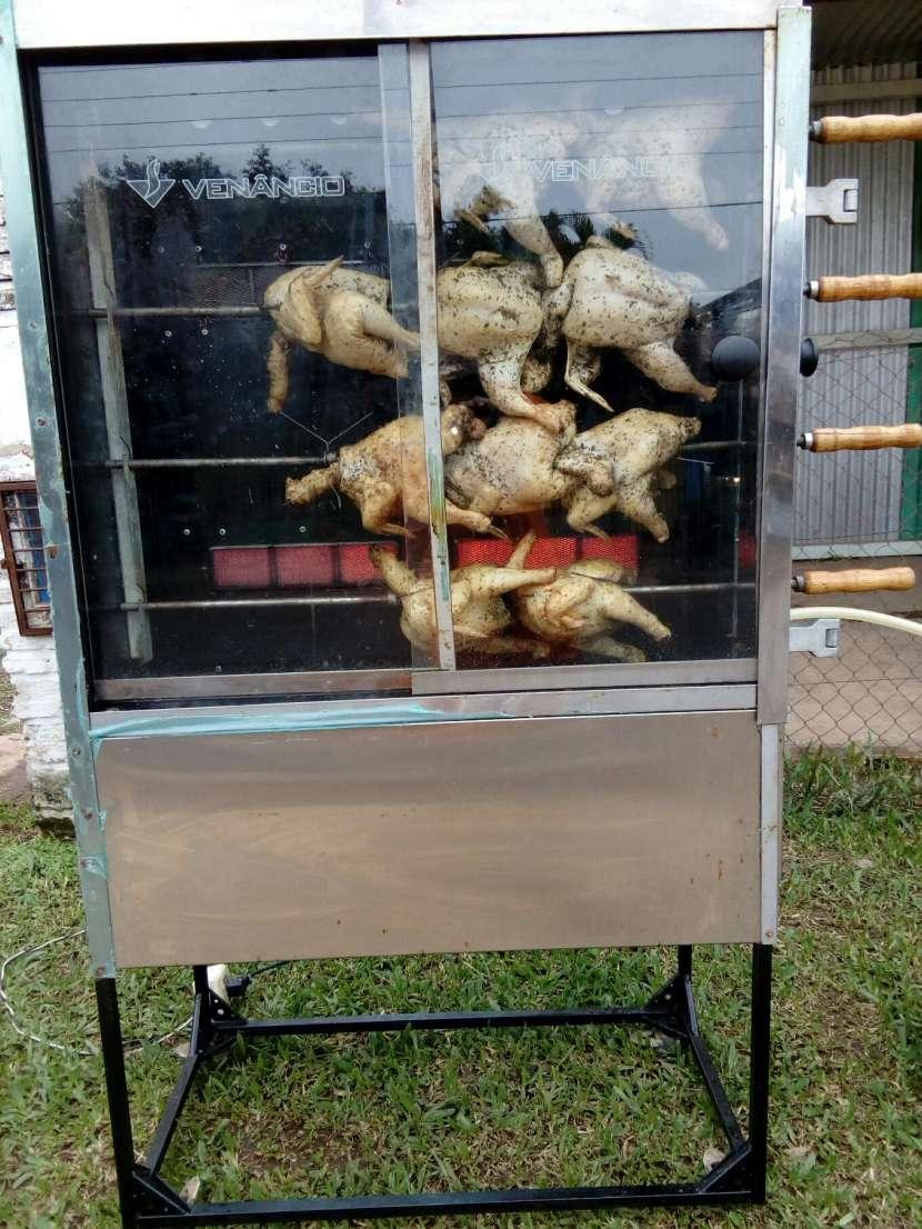 Máquina pollo al espiedo para 25 und - 0