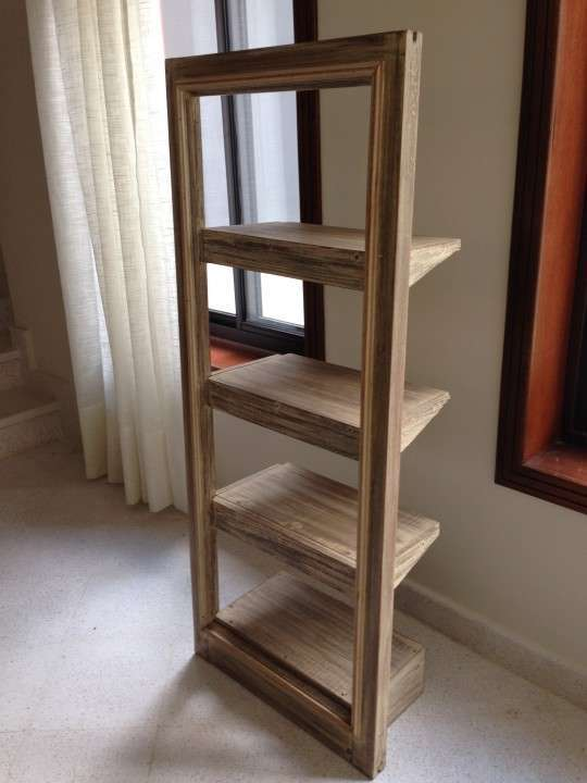 Biblioteca de madera - 0