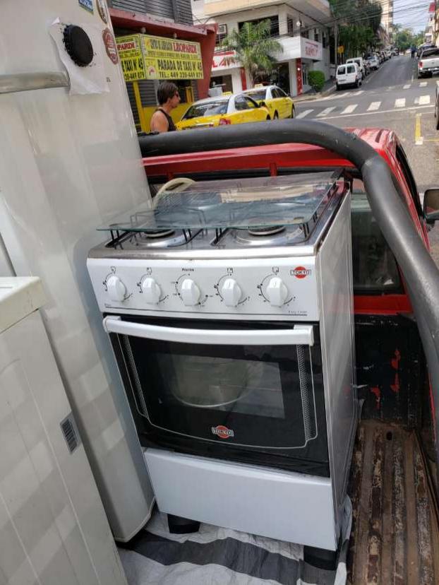 Cocina y lavarropas
