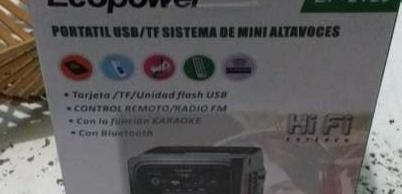 Speaker Ecopower - 0